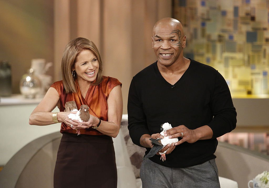 Image Credit: Getty Images / Former Heavyweight Champion boxer Mike Tyson brings along his pigeons to KATIE, airing THURSDAY, FEB. 7th, distributed by Disney-Walt Disney Television.