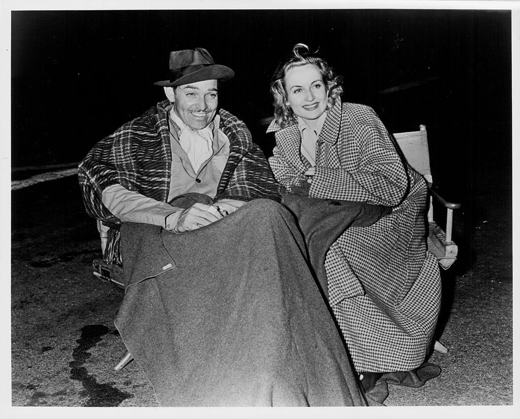 Image Credit: Getty Images / Actors and spouses Clarke Gable and Carol Lombard, pictured together circa 1940.