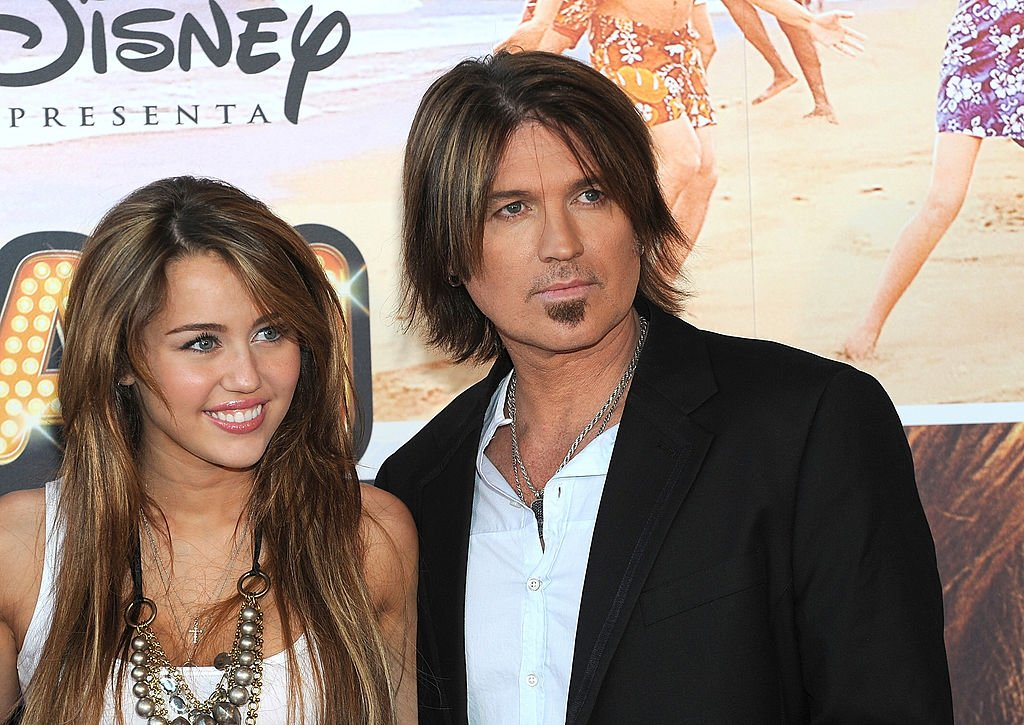 Image Source: Getty Images/Billy and Miley