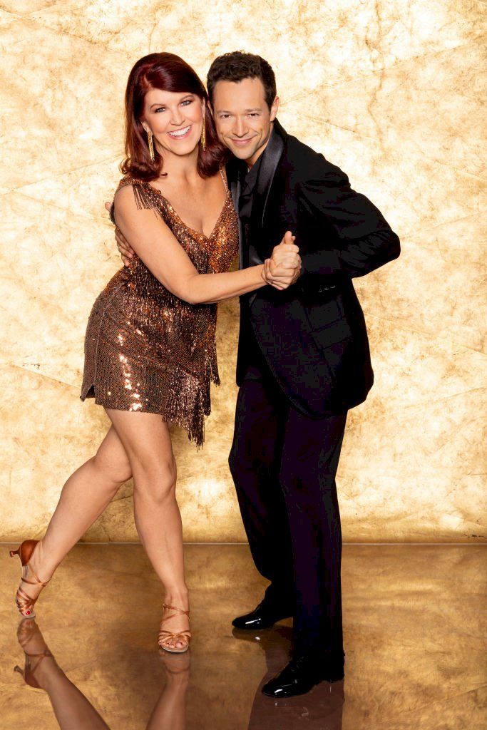 Image Credit: Getty Images/Craig Sjodin via Getty Images | Portrait of KATE FLANNERY & PASHA PASHKOV for DWTS