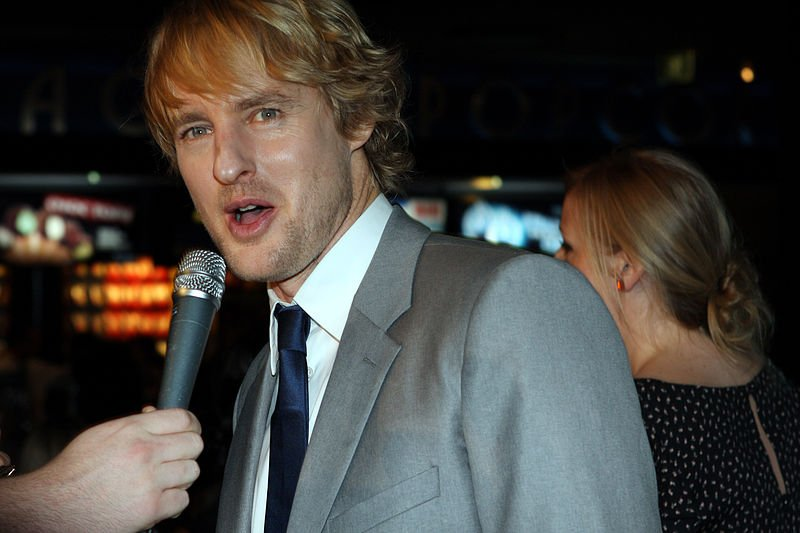 Wikimedia Commons/Owen Wilson, Hall Pass 2011