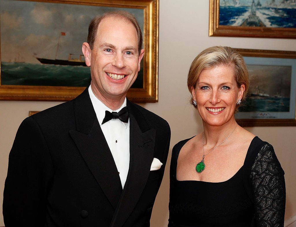 Image Credit: Getty Images / Prince Edward, Earl of Wessex & Sophie, Countess of Wessex attend a gala fundraising dinner at the Royal Yacht Squadron during a day of engagements on the Isle of Wight on March 27, 2014 in Cowes, England.