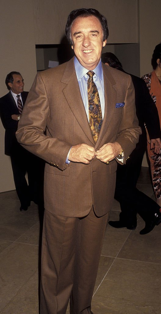Image Source: Getty Images/Ron Galella, Ltd.| Actor Jim Nabors attends Professional Dancers Society Gypsy Awars Luncheon on February 3, 1991 at the Beverly Hilton Hotel in Beverly Hills, California