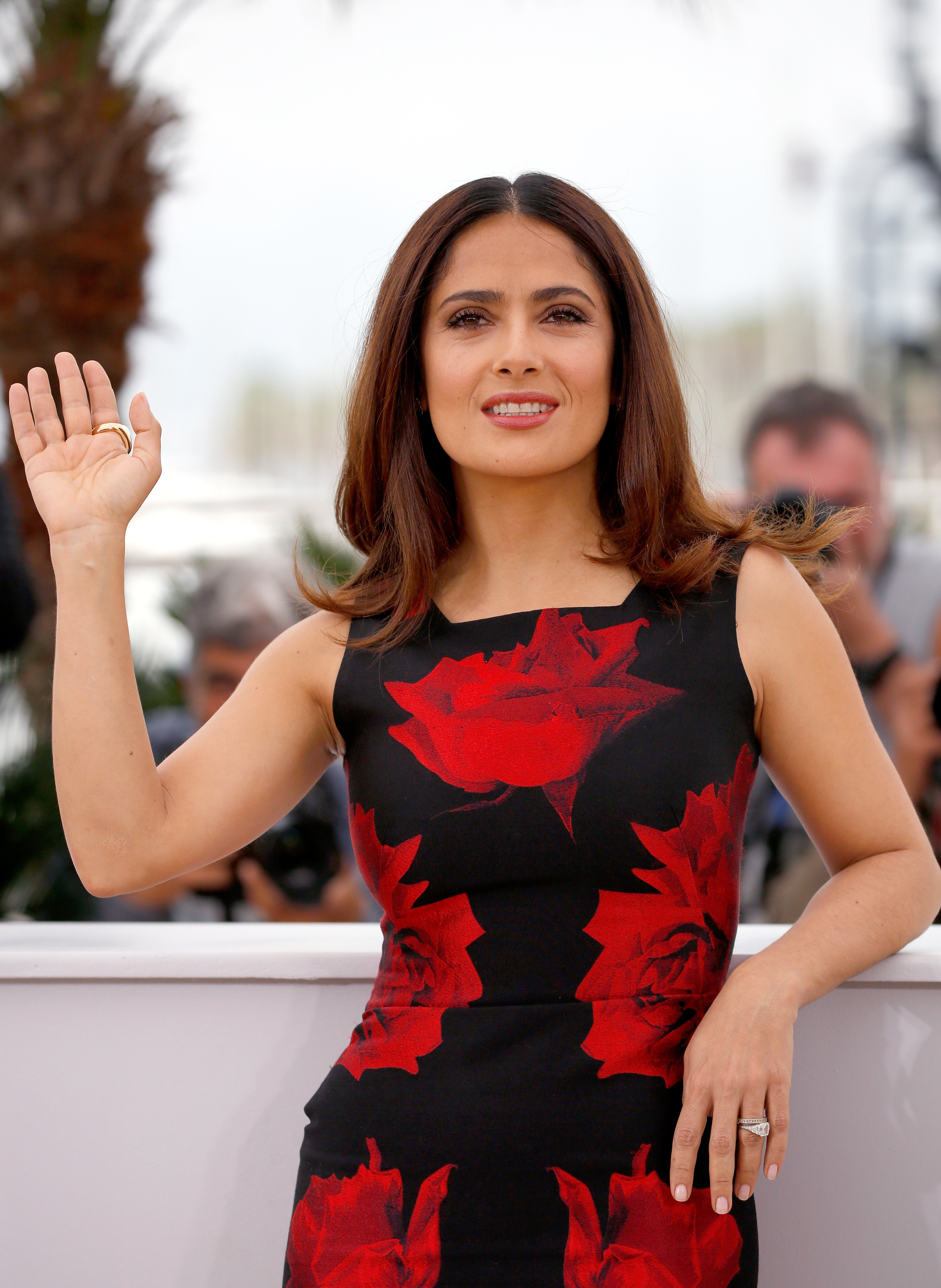 "Image Credits: Getty Images / Tristan Fewings |  Actress Salma Hayek attends a photocall for ""Il Racconto Dei Racconti"" (""Tale of Tales"") during the 68th annual Cannes Film Festival on May 14, 2015 in Cannes, France."