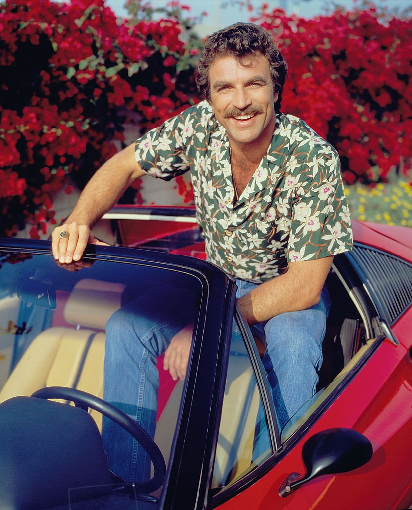 Image Credits: Getty Images | Actor Tom Selleck On Iconic Ferrari That Magnum Drove