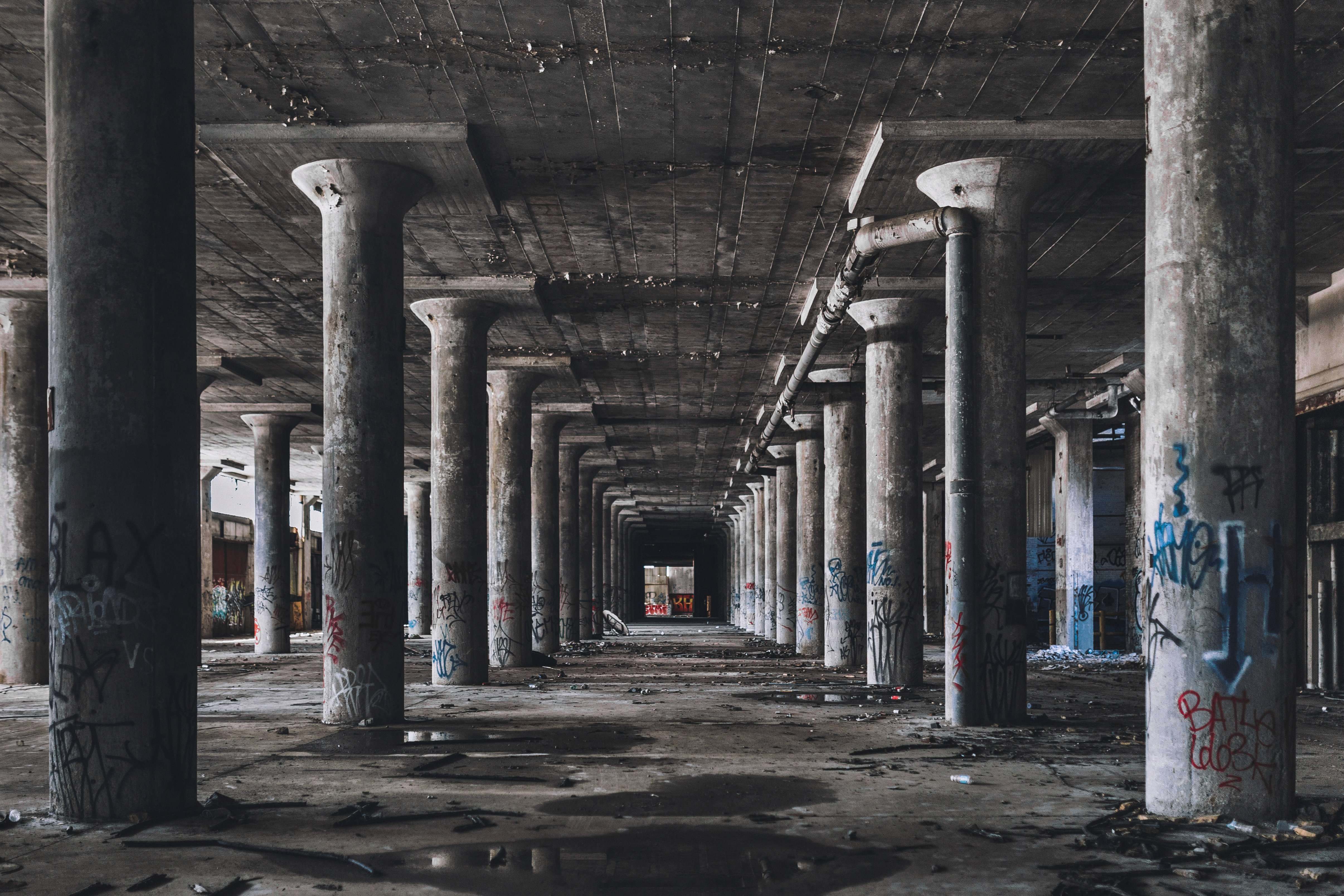 Abandoned Factory Hall | Shutterstock