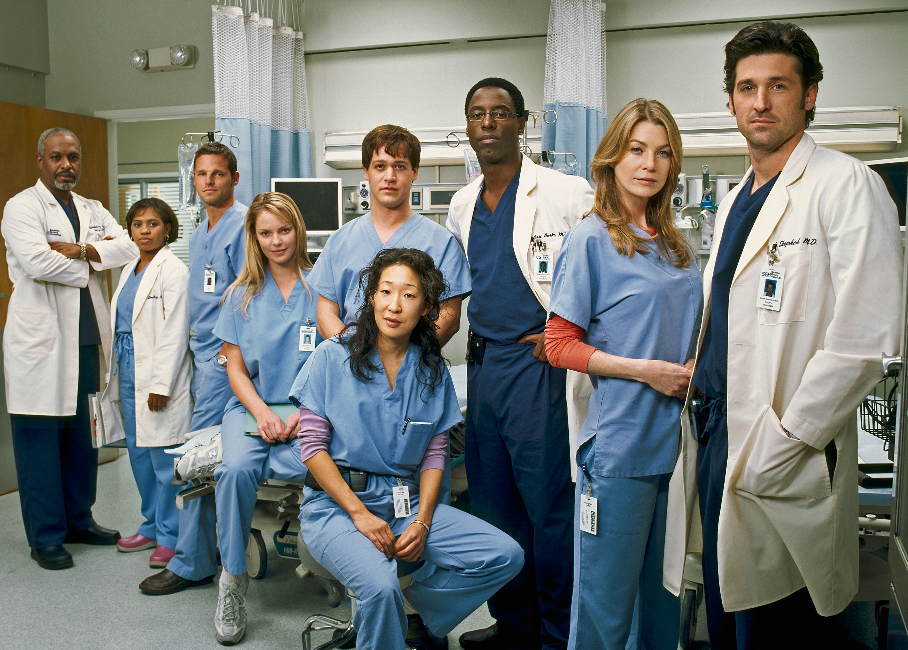 Grey's Anatomy cast/Photo:Getty Images