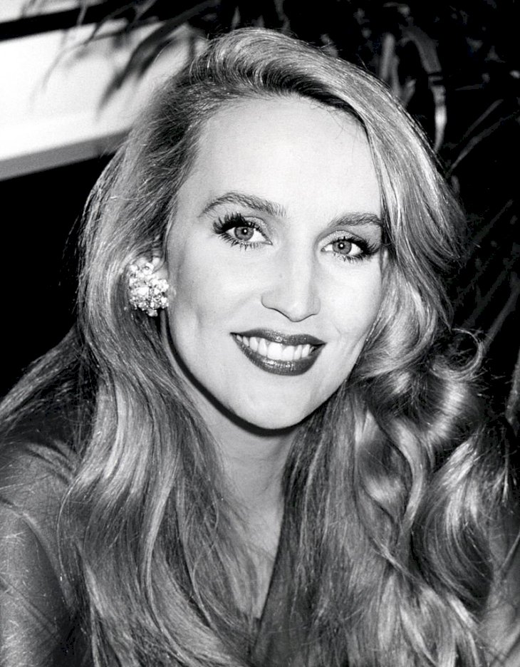 "Image Credits: Getty Images / Ron Galella / Ron Galella Collection | Jerry Hall during ""A View to a Kill"" Screening Party."