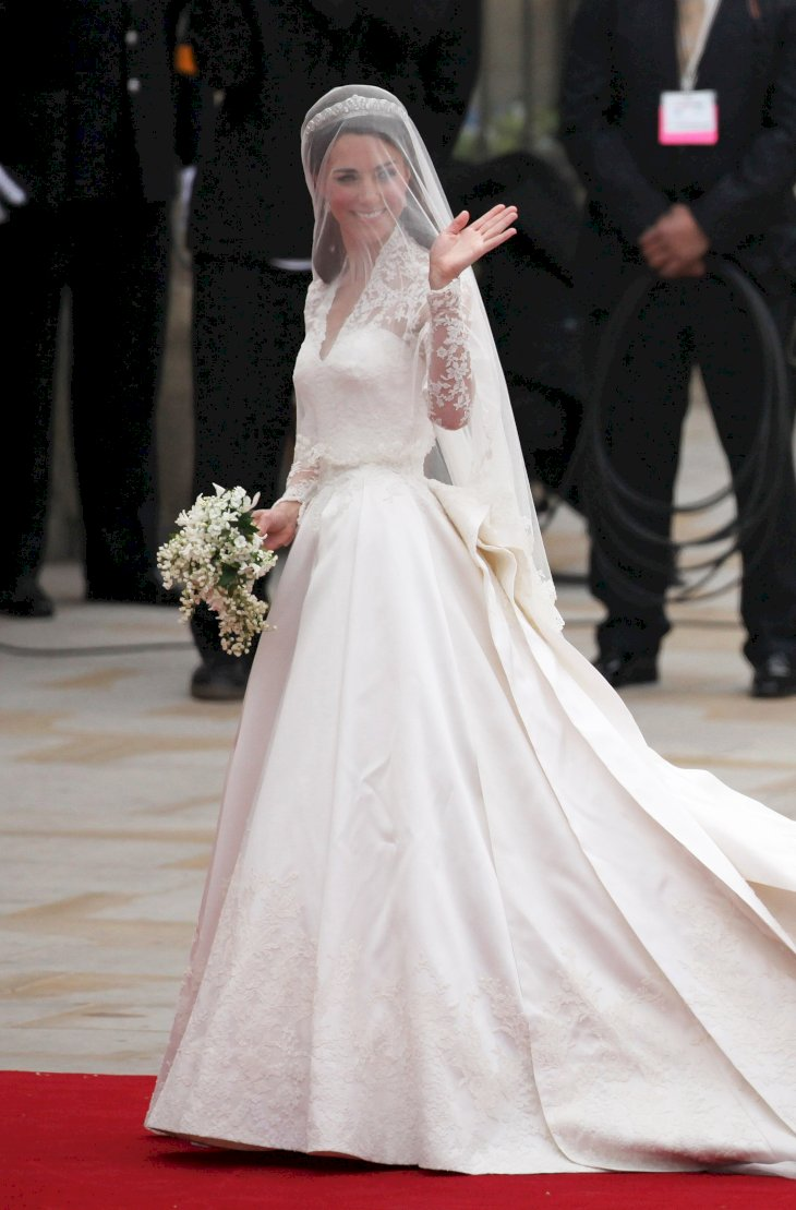 Image Credit: Getty Images / Kate Middleton on her wedding day.