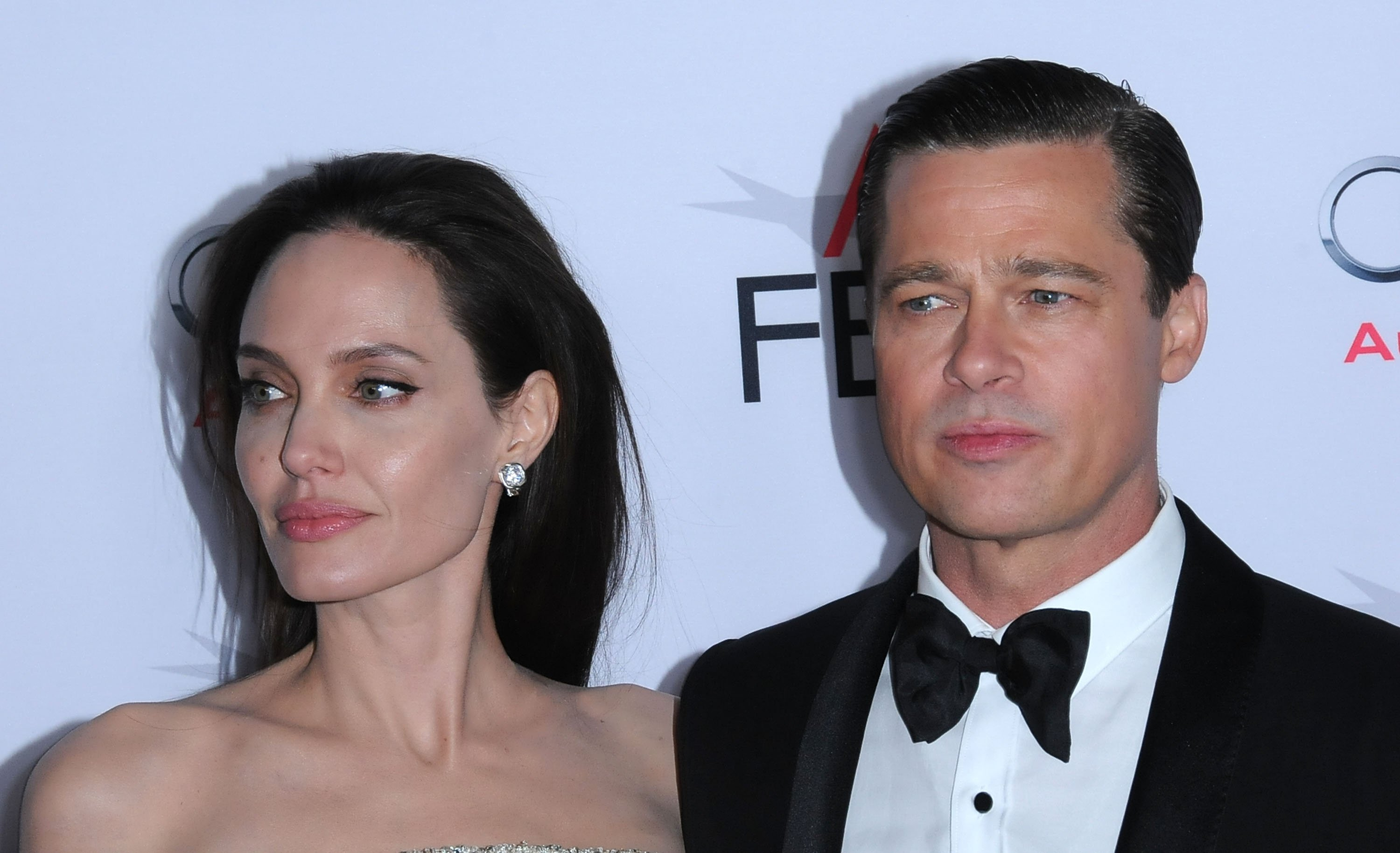 "Image Credit: Getty Images/Barry King | Brad and Angelina at the premier of ""By The Sea"""