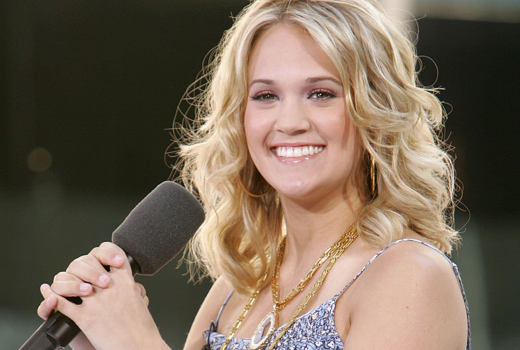 "Image Credit: Getty Images / Carrie Underwood Performs on the 2005 NBC's ""The Today Show"" Summer Concert Series."