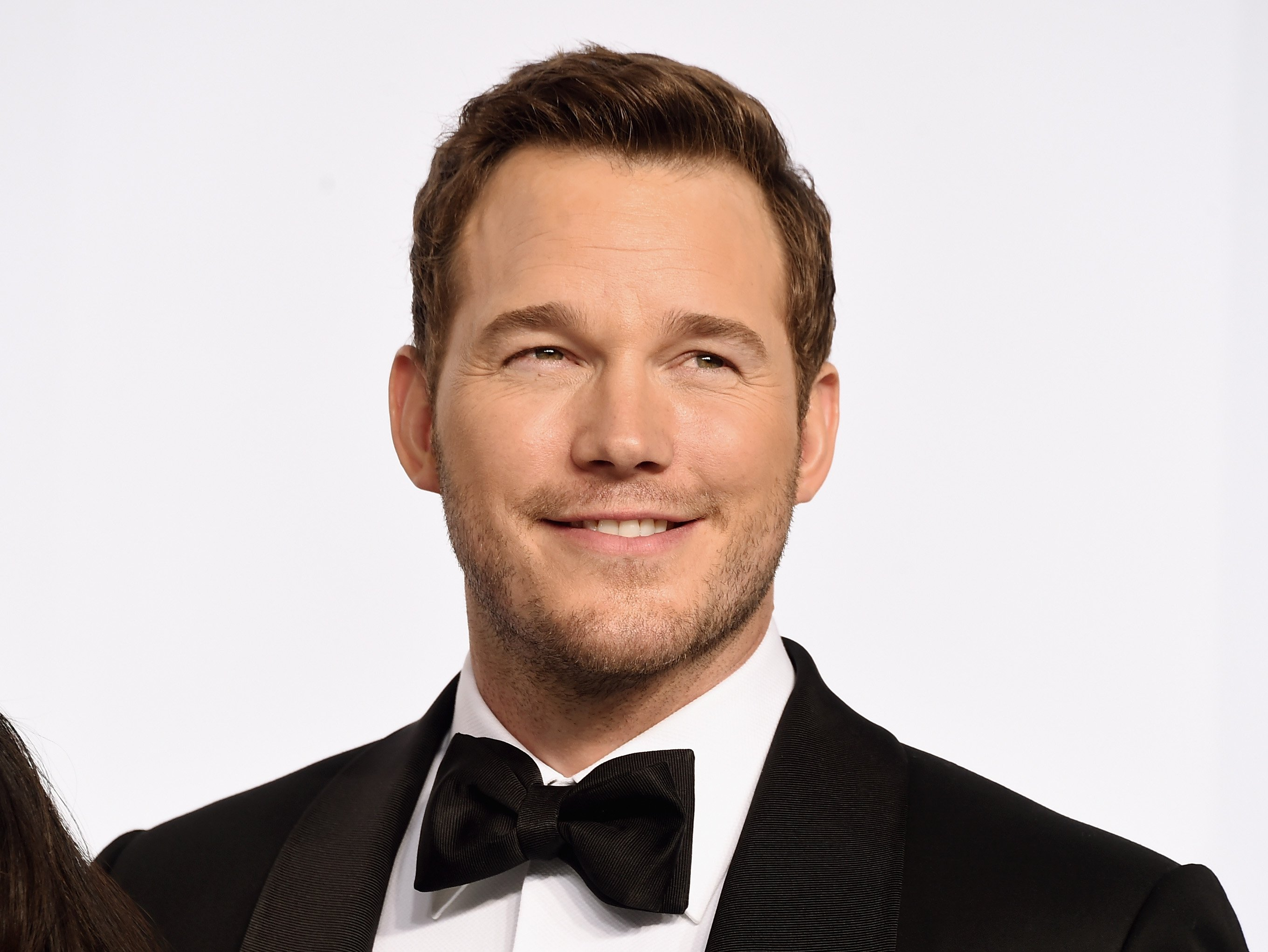 Image Source: Getty Images | Chris Pratt at a red carpet event