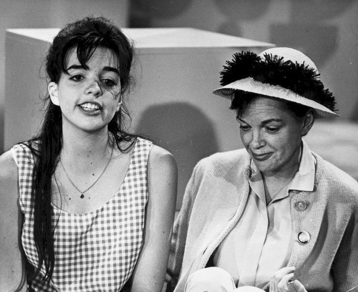 Image Credit: Getty Images / Liza Minnelli with her mother, Judy Garland.