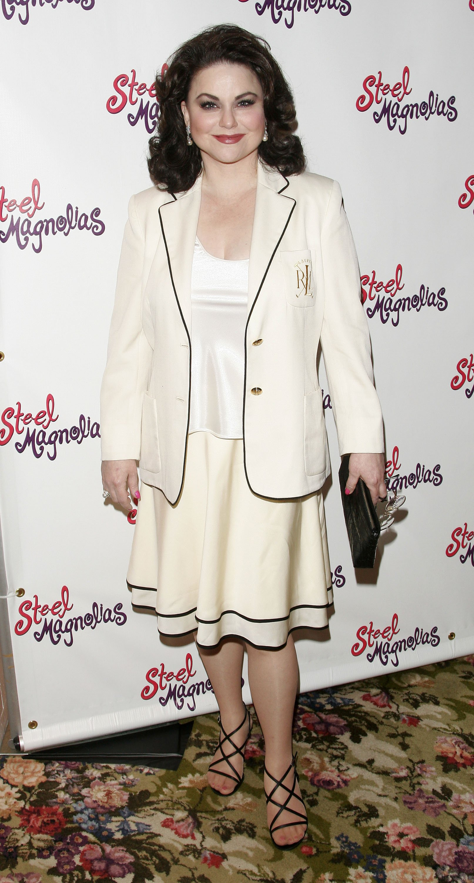 "Delta Burke during the after party for the opening night of ""Steel Magnolias"" on Broadway on April 4, 2005 in New York City. 