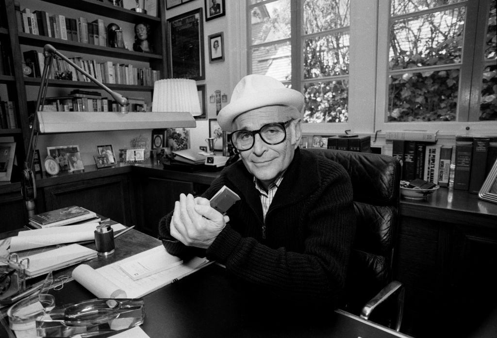 Image Credits: Getty Images / Bob Riha Jr | TV show creator Norman Lear at home, February 27, 1984 in Los Angeles, California.