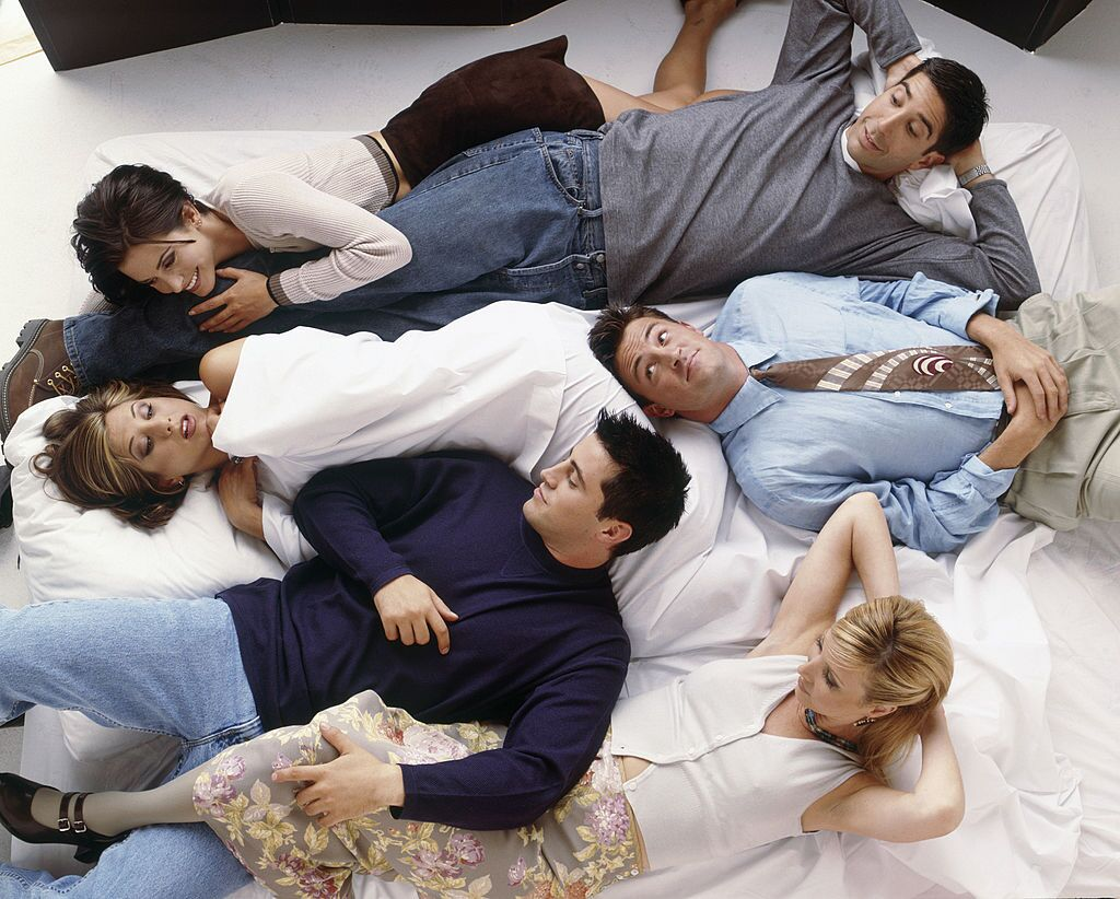 The cast of the iconic TV show Friends / Getty Images