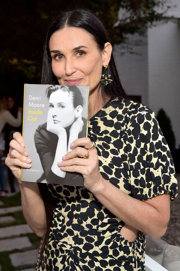 Image Credits: Getty Images / Stefanie Keenan | Demi Moore attends Demi Moore's 'Inside Out' book party on September 23, 2019 in Los Angeles, California.
