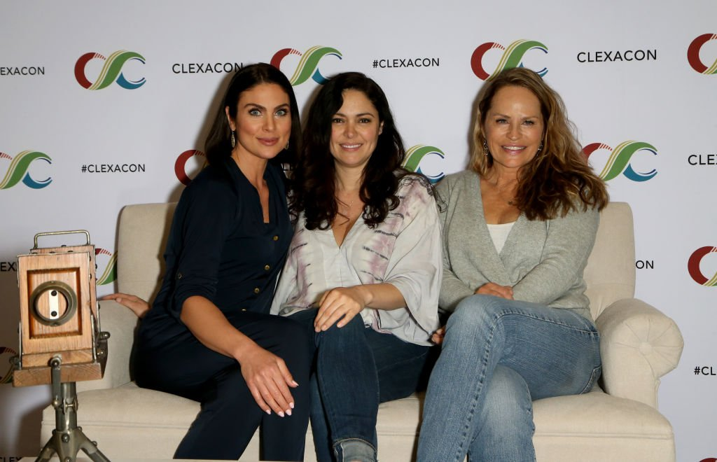(L-R) Nadia Bjorlin, Jessica Leccia (Natalia) and Crystal Chappell (Olivia) | Image Source: Getty Images
