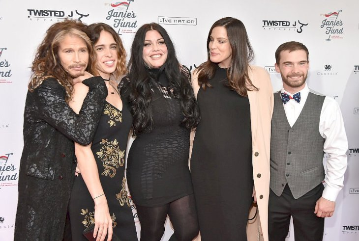 Image Credit: Getty Images / Liv Tyler with her family.