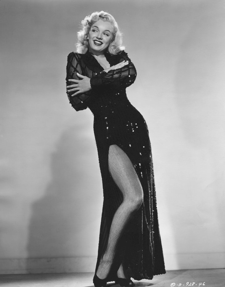 Image Credit: Getty Images/Corbis via Getty Images/George Rinhart | Marilyn Monroe as she appears in Ladies of the Chorus.