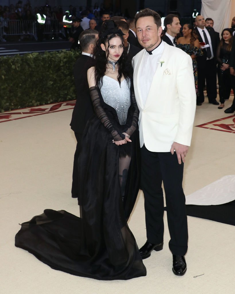 Image Credit: Getty Images / Musk and Grimes attend The Metropolitan Museum of Art event on May 7, 2018 in New York City.