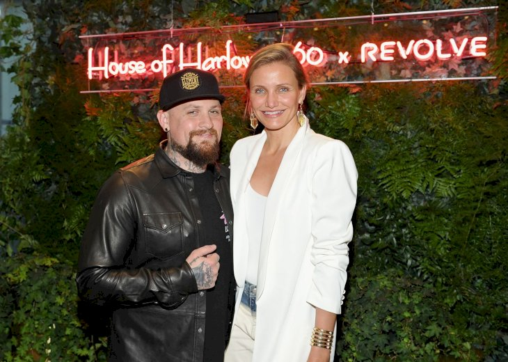 Cameron Diaz and Benji Madden/Photo:Getty Images