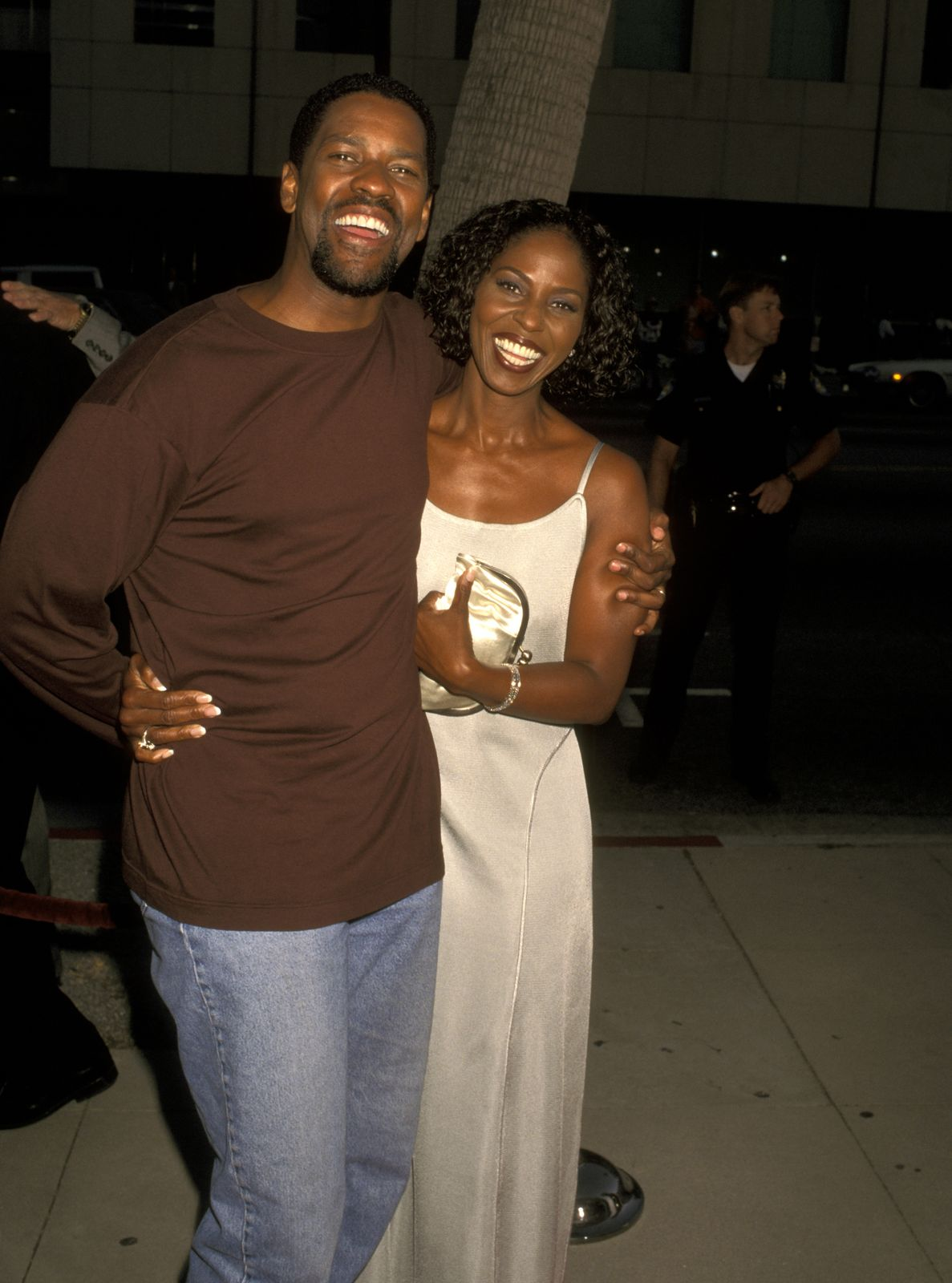Denzel Washington and Pauletta Pearson/Photo:Getty Images