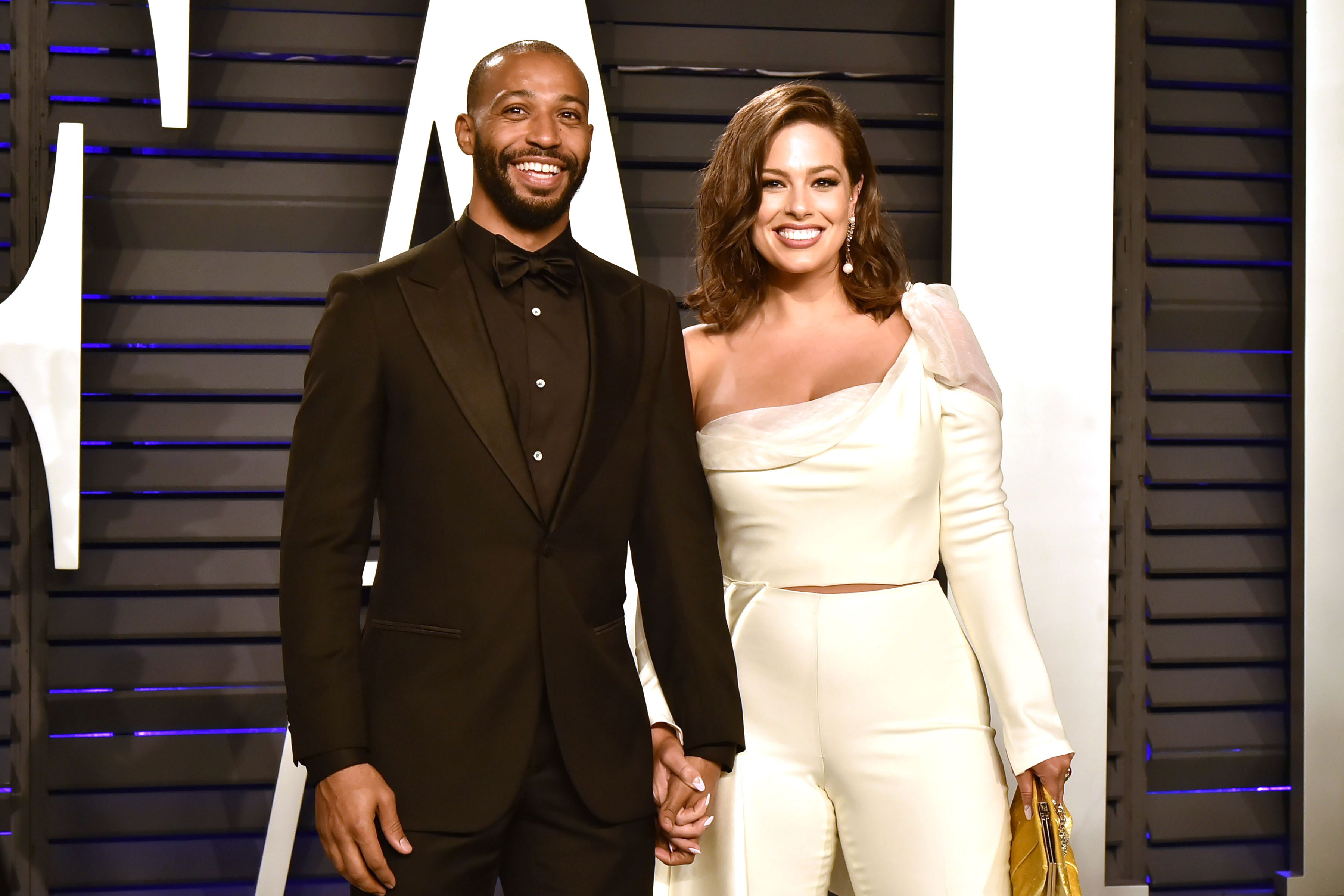 Ashley Graham and Justin Ervin/Photo:Getty Images