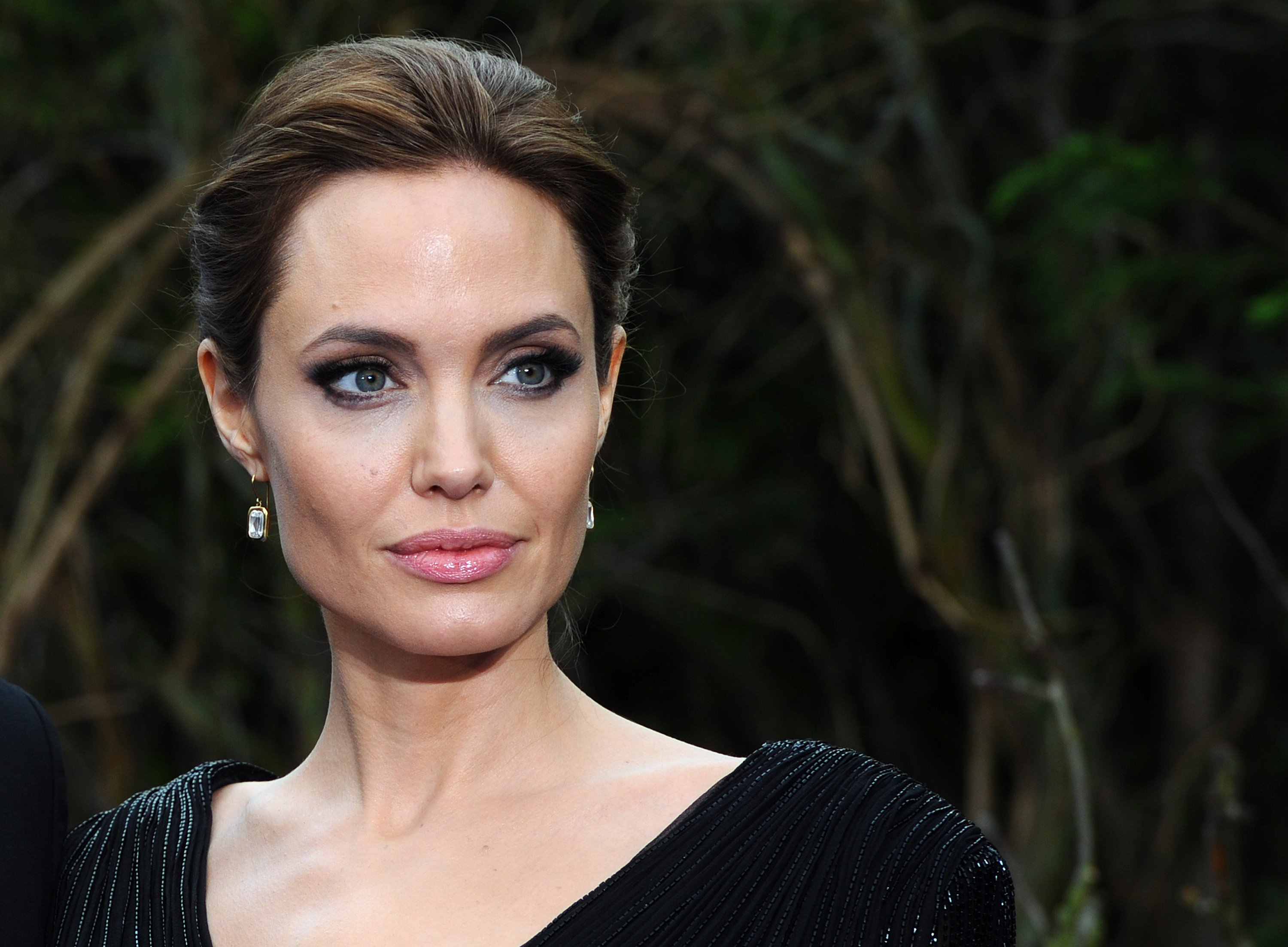 Image Credit: Getty Images/Anthony Harvey | Angelina Jolie attends a private reception for Disney's Maleficent