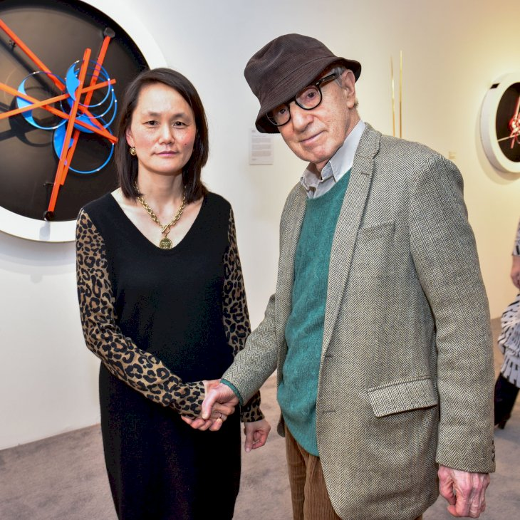 Image Credit: Getty Images/Patrick McMullan via Getty Images/Sean Zanni |Soon-Yi Previn and Woody Allen attend The Art Show Gala Preview