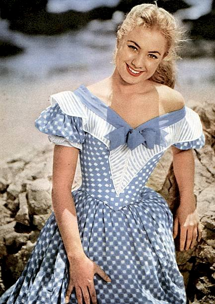 Image Credit: Getty Images / Shirley Jones in the 50s.