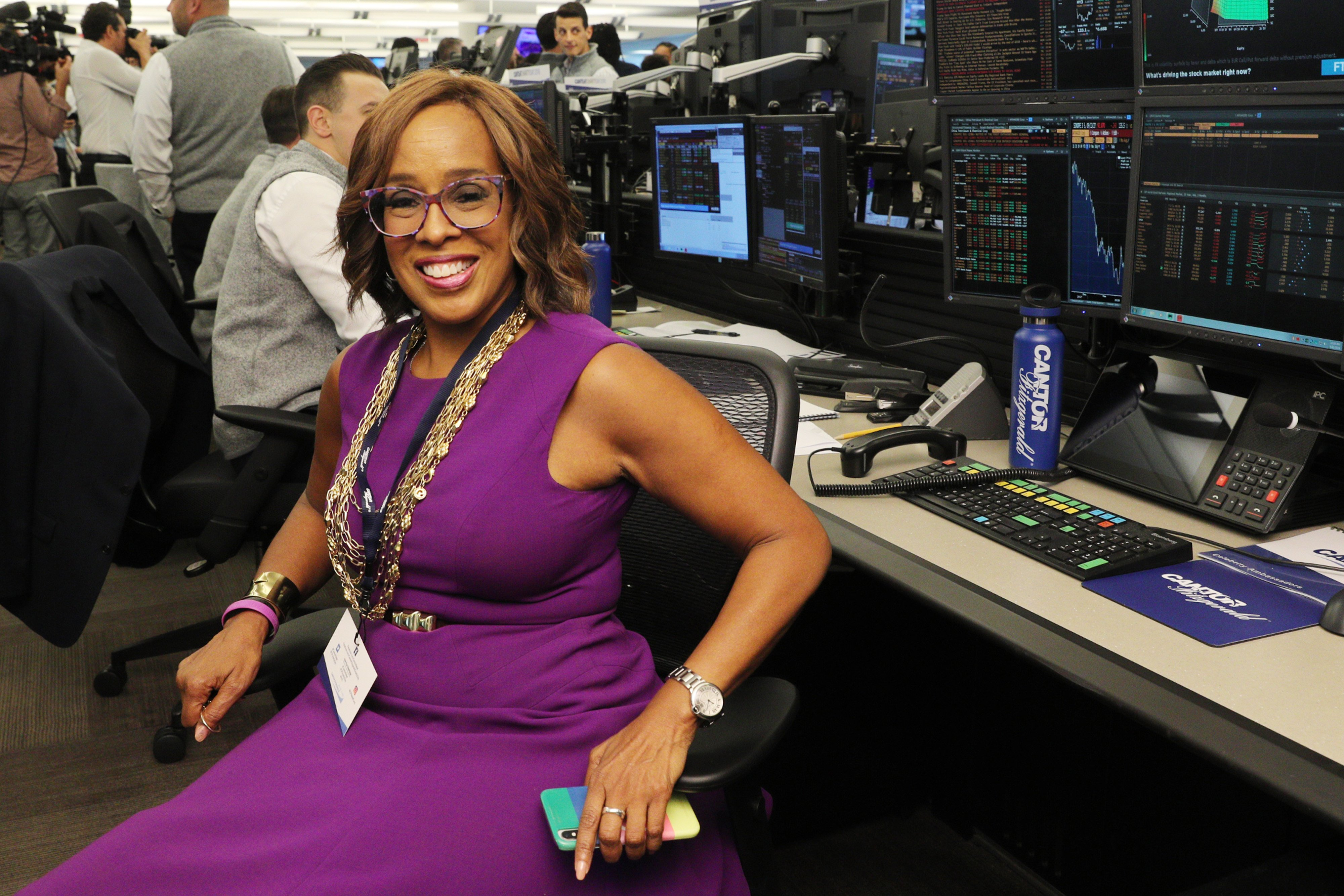 Gayle King Image Source: Getty Images.