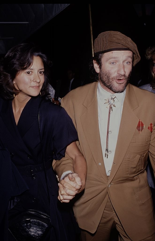 Image Credits: Getty Images / The LIFE Picture Collection  | Robin Williams and his wife Marsha Williams.