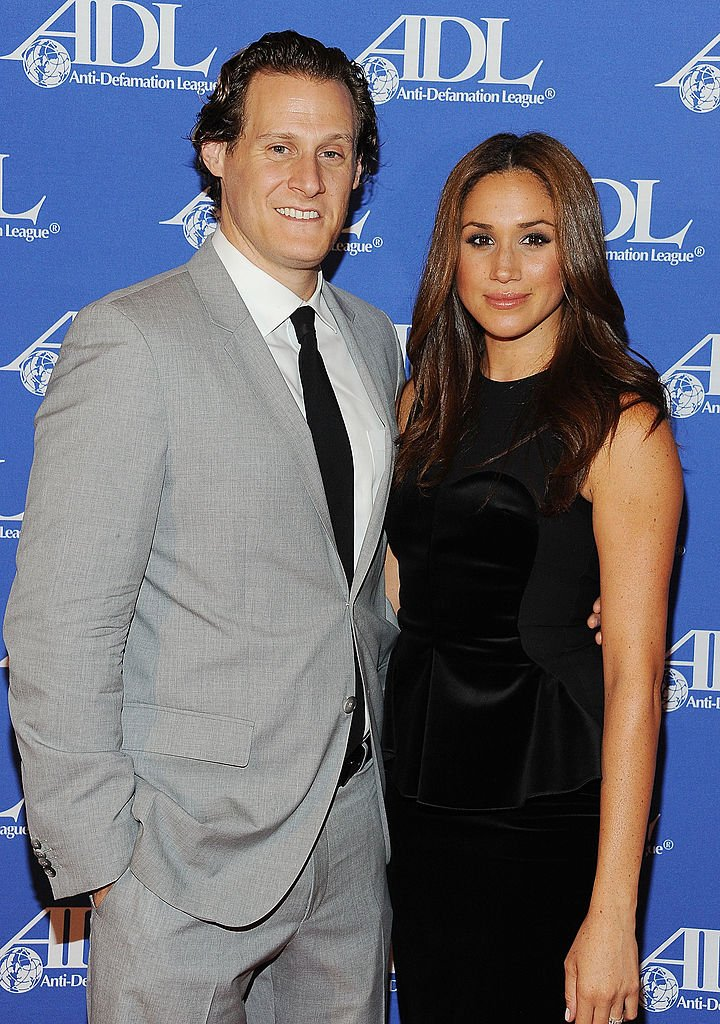 Image Credits: Getty Images  | Meghan Markle and her former husband, the producer Trevor Engelson.