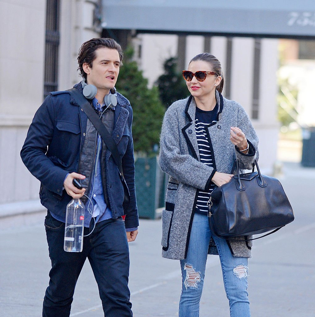 Image Source: Getty Images/NCP/Star Max/Actor Orlando Bloom and Miranda Kerr are seen on December 13, 2013 in New York City