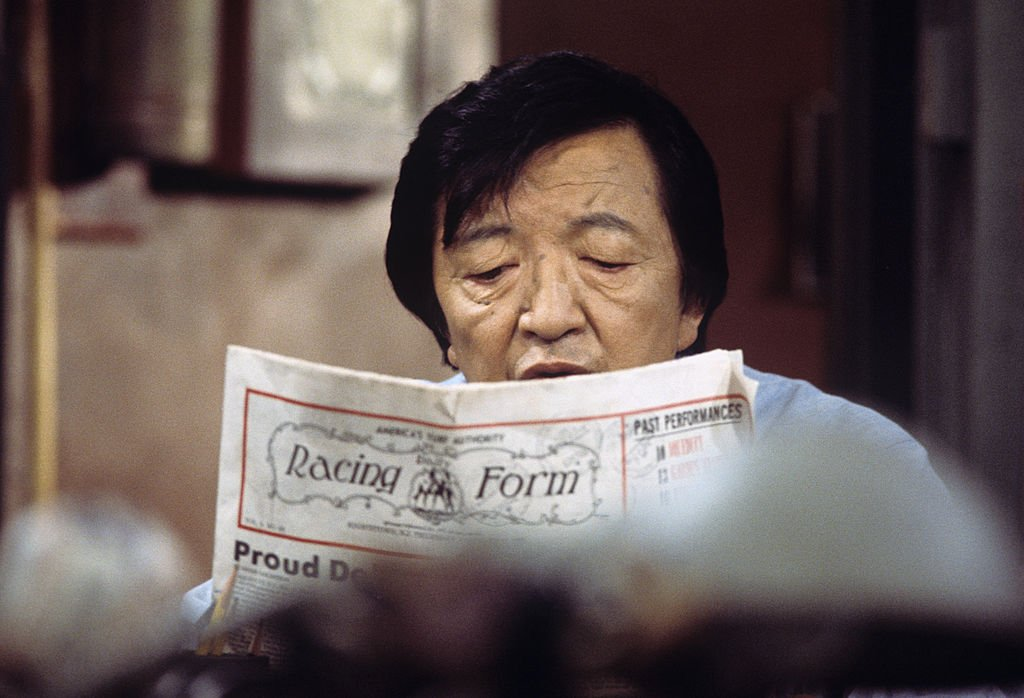 Image Credit: Getty Images / Jack Soo on set for Barney Miller.