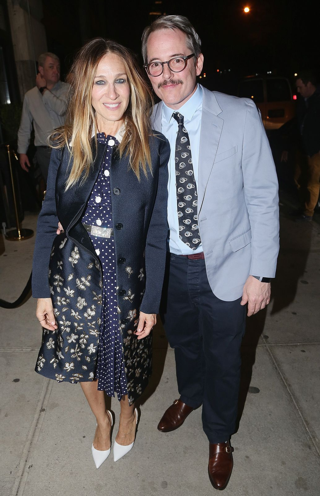 Matthew Broderick and Sarah Jessica Parker/Photo:Getty Images