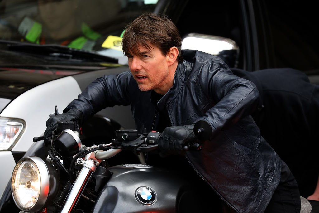 Image Credit: Getty Images / Actor Tom Cruise is seen on the set of Set of Mission : Impossible 6 on May 4, 2017 in Paris, France.