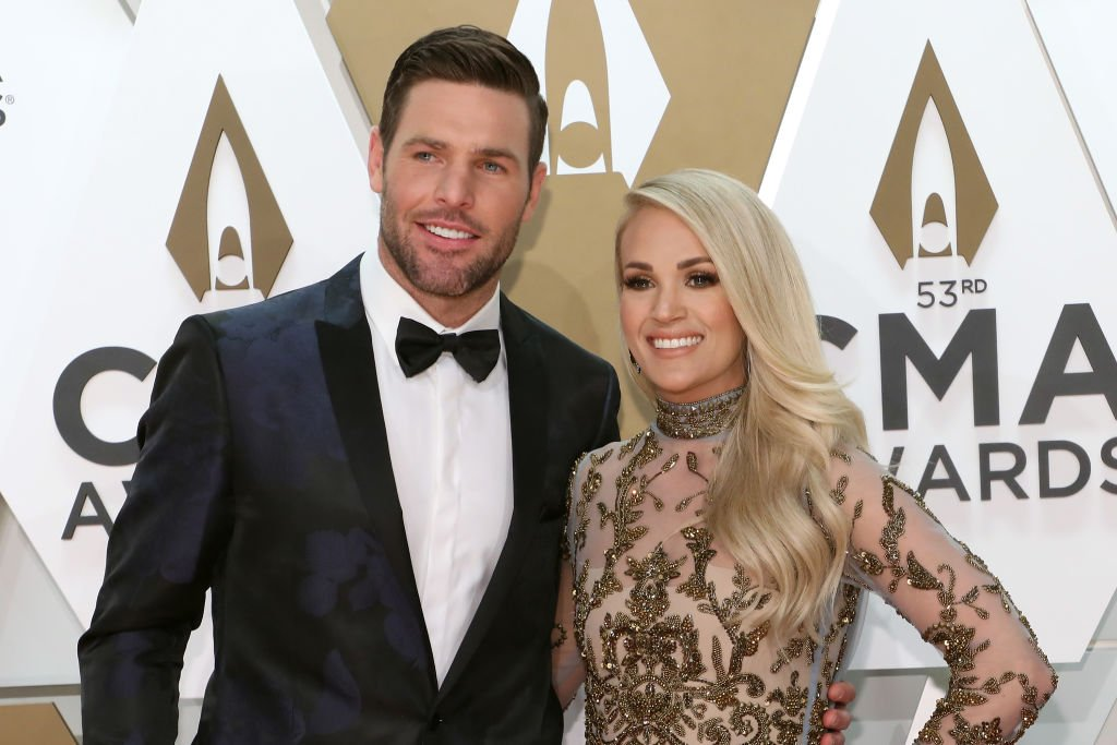 Image Credit: Getty Images / Mike Fisher and Carrie Underwood attend the 53nd annual CMA Awards at Bridgestone Arena on November 13, 2019.
