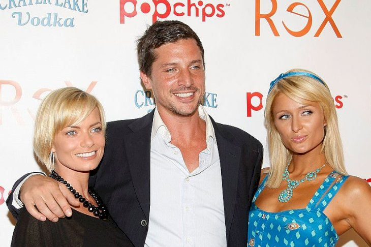 "Image Credits: Getty Images / Michael Buckner | Actress Jaime Pressly, actor Simon Rex and actress Paris Hilton arrive at the premiere screening for ""Rex"" at cinespace on June 8, 2009 in Hollywood, California."