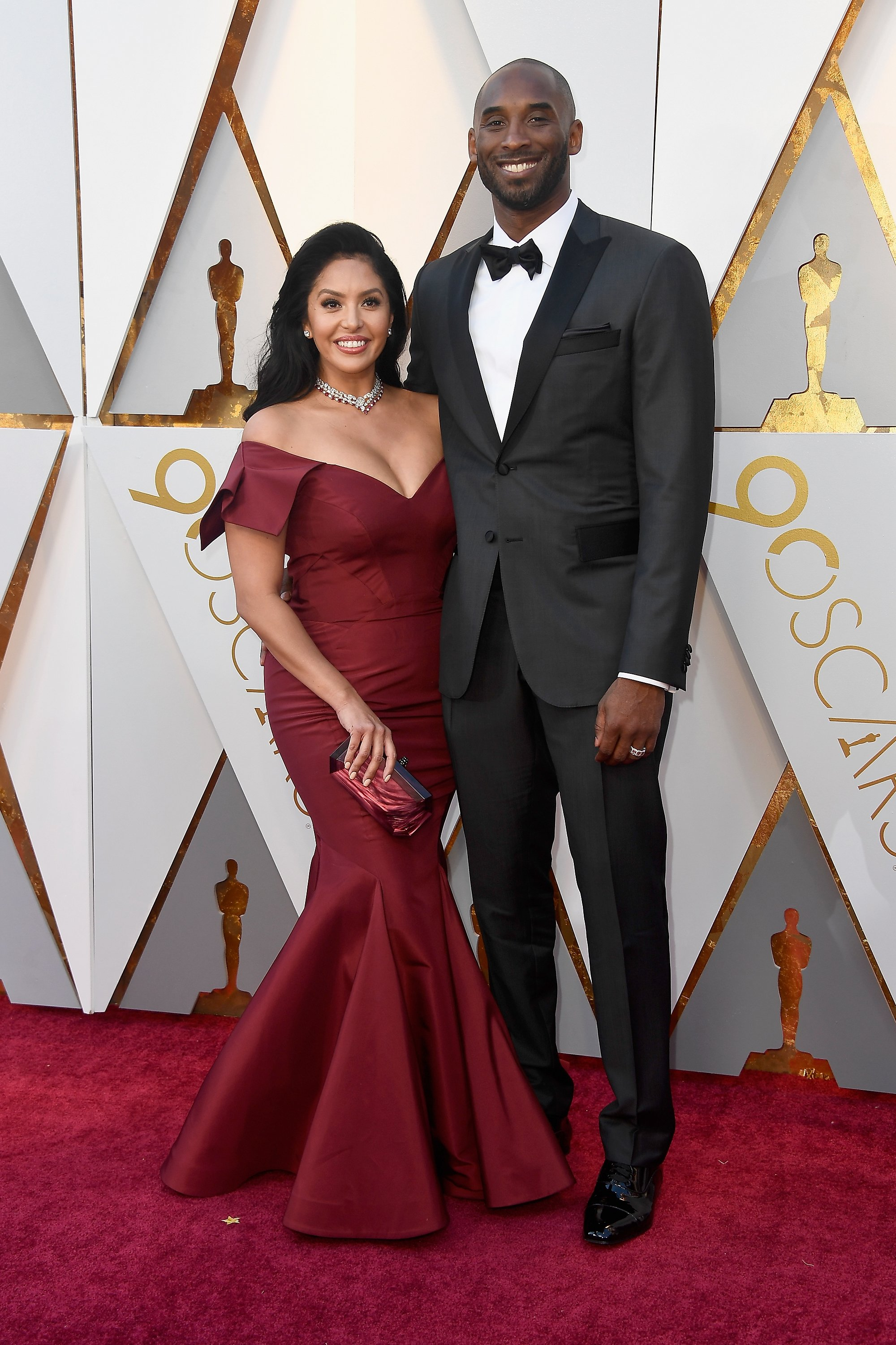 Image Source: Getty Images/Kobe and Vanessa at the Oscars