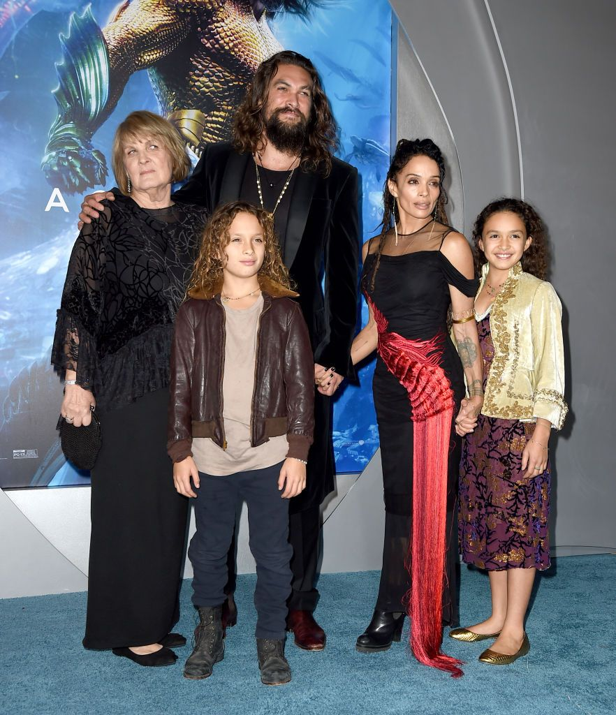 Momoa with his family / Getty Images