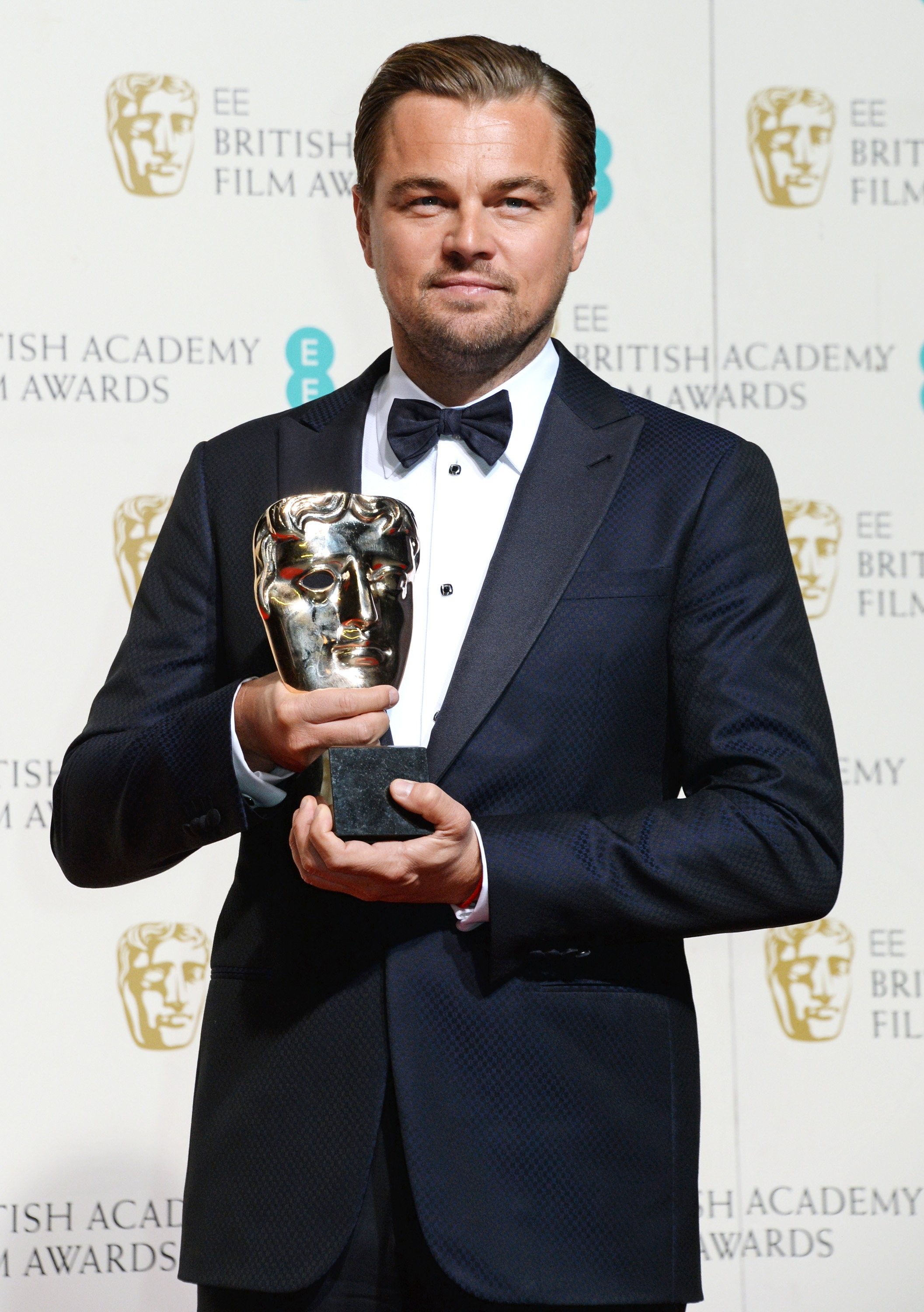 Image Source: Getty Images| Leo at The British Academy Awards