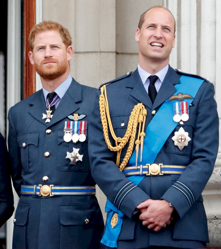 Image Credit: Getty Images / Prince Harry and his older brother, Prince William.