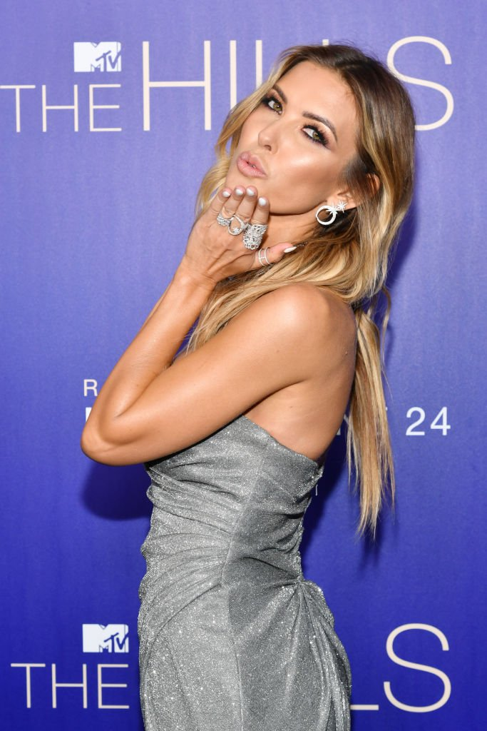 "Image Credits: Getty Images / Amy Sussman | Audrina Patridge attends the premiere of MTV's ""The Hills: New Beginnings"" at Liaison on June 19, 2019 in Los Angeles, California."