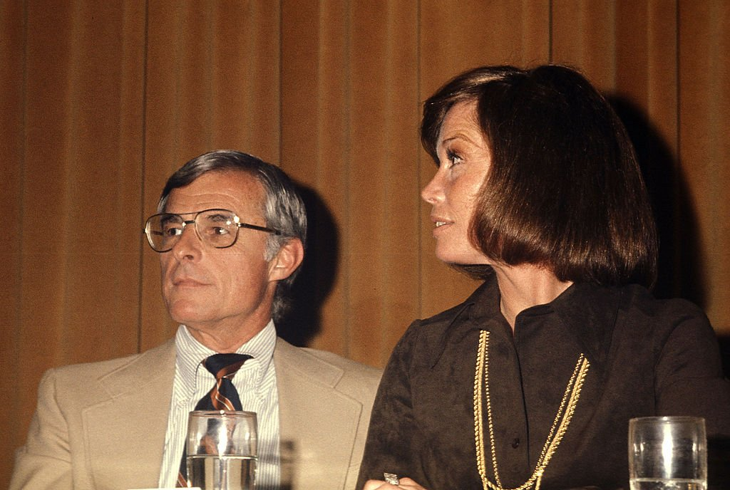 Image Credits: Getty Images | Mary Tyler Moore and second husband Gary Tinker