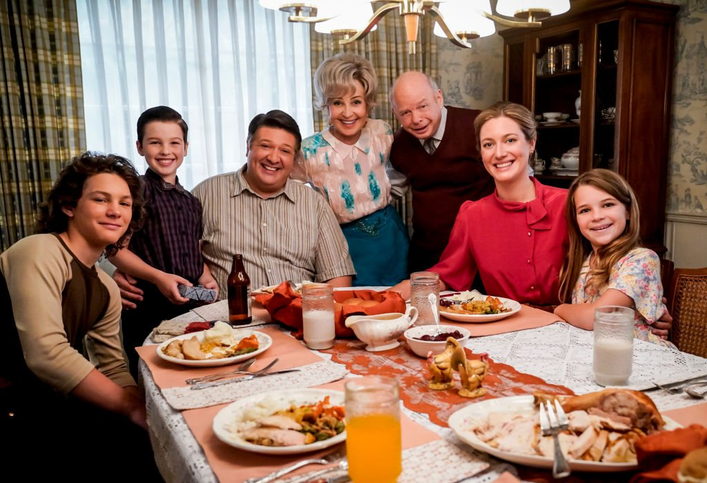 Image Credit: Getty Images / Family picture for the CBS series, Young Sheldon.