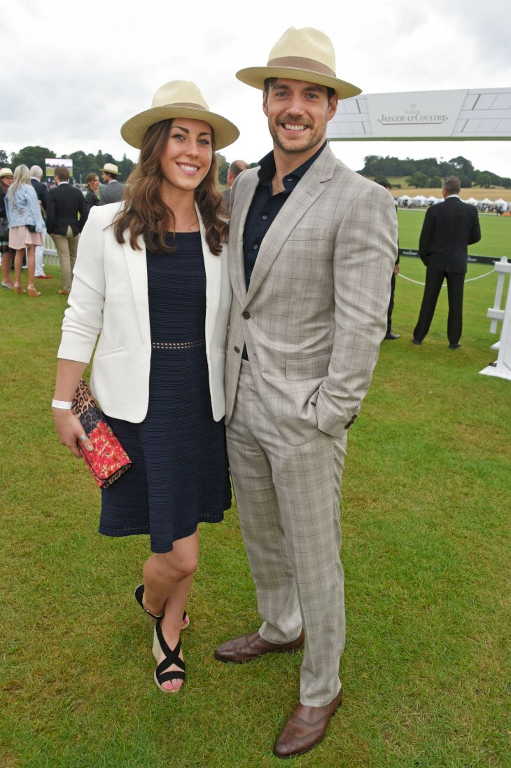 Lucy Cork and Henry Cavill attend the Jaeger-LeCoultre Gold Cup Polo Final on July 23, 2017 / Photo:Getty Images