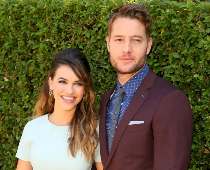 Image Credit: Getty Images / Justin Hartley and Chrishell Stause at an event.