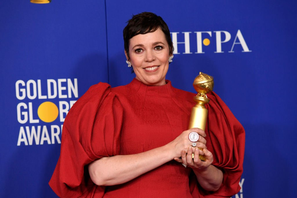Image Credits: Getty Images / Kevork Djansezian / NBC / NBCU Photo Bank | Actress Olivia Colman in the press room after winning the award for Best Performance by an Actress in a Television Series - Drama for The Crown at the 77th Annual Golden Globe Awards held at the Beverly Hilton Hotel on January 5, 2020.